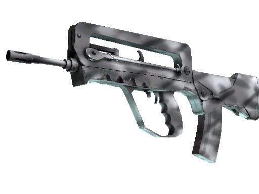 FAMAS | Contrast Spray Factory New