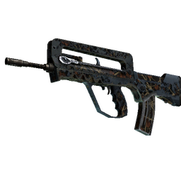 FAMAS | Crypsis (Battle-Scarred)