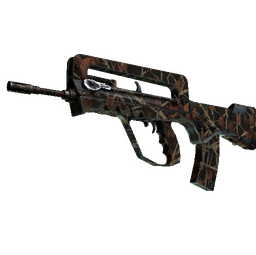 StatTrak™ FAMAS | Crypsis (Well-Worn)