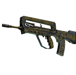 StatTrak™ FAMAS | Macabre (Battle-Scarred)