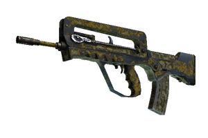 Famas Macabre Battle Scarred