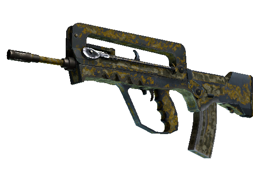 FAMAS | Macabre Battle-Scarred