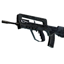 FAMAS | Night Borre (Battle-Scarred)