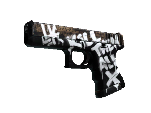 Glock-18 | Wasteland Rebel (Battle-Scarred)