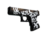StatTrak™ Glock-18 | Wasteland Rebel (Factory New)