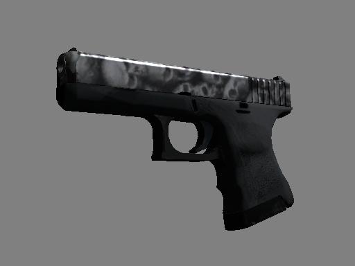 Скин StatTrak™ Glock-18 | Захоронение (После полевых испытаний)
