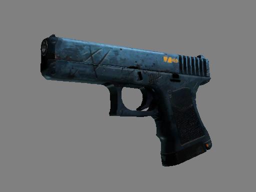 Скин Glock-18 | Пришелец (Закаленное в боях)