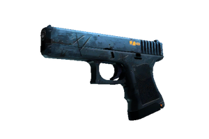 Stattrak Trade Glock 18 Off World Minimal Wear