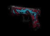 Glock-18 | Дух воды, Закаленное в боях, 158.62$