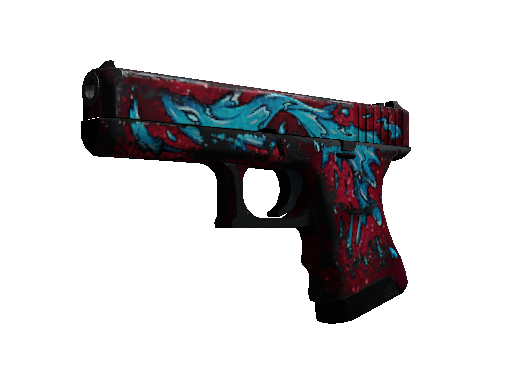 Glock-18 | Water Elemental Battle-Scarred
