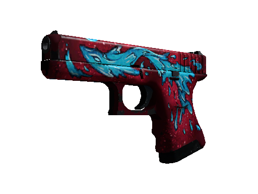 Glock-18 | Water Elemental Field-Tested