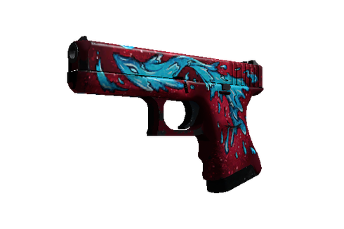 Buy Glock-18 | Water Elemental (Well-Worn)