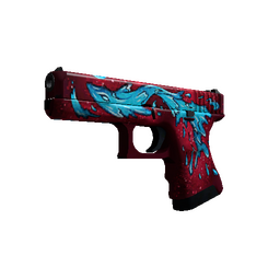 Glock-18 | Water Elemental (Minimal Wear)