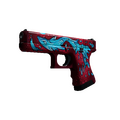 Glock-18 | Water Elemental <br>(Minimal Wear)