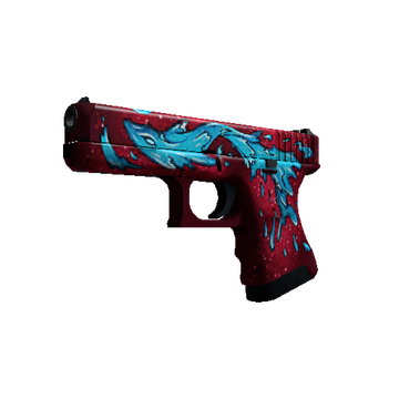 Glock 18 Water Elemental CSGO Giveaway