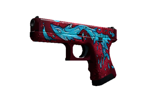 Buy StatTrak™ Glock-18 | Water Elemental (Minimal Wear)