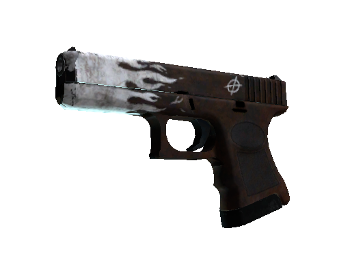 Glock-18 | Oxide Blaze Field-Tested