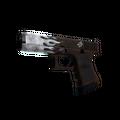 StatTrak™ Glock-18 | Oxide Blaze <br>(Minimal Wear)