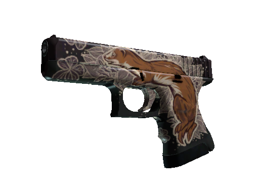 StatTrak™ Glock-18 | Weasel (Battle-Scarred)