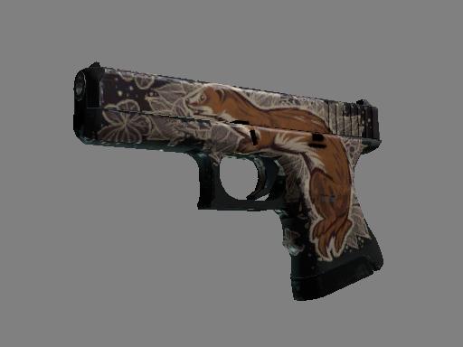 Скин StatTrak™ Glock-18 | Ласка (Закаленное в боях)