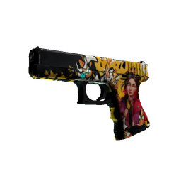 StatTrak™ Glock-18 | Bullet Queen (Battle-Scarred)