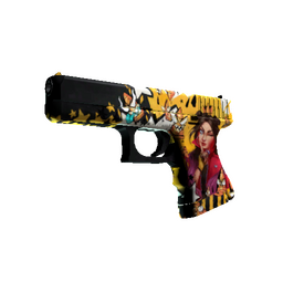StatTrak™ Glock-18 | Bullet Queen (Factory New)