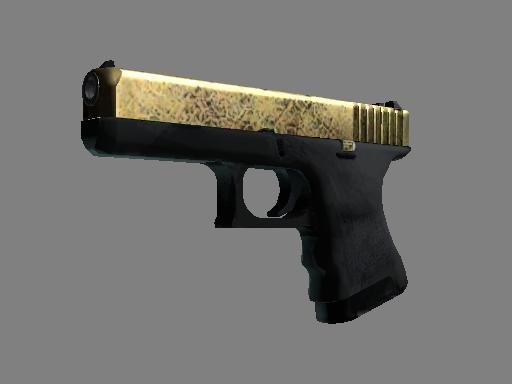 Glock-18 | Brass Minimal Wear