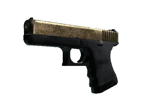 Glock-18 | Brass Battle-Scarred