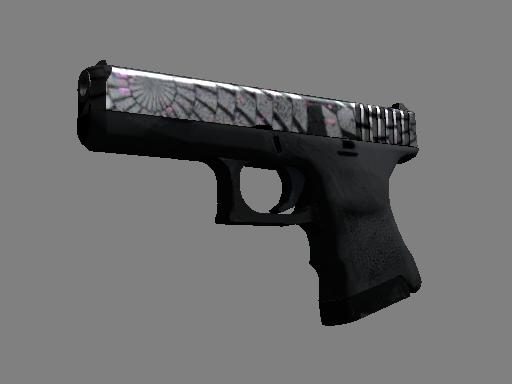 Скин Glock-18 | Жернов (После полевых испытаний)