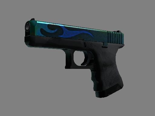 Glock-18  |  Bunsen Burner  Battle-Scarred