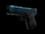 StatTrak™ Glock-18   Bunsen Burner (Well-Worn)