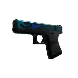 Glock-18 | Bunsen Burner (Well-Worn)