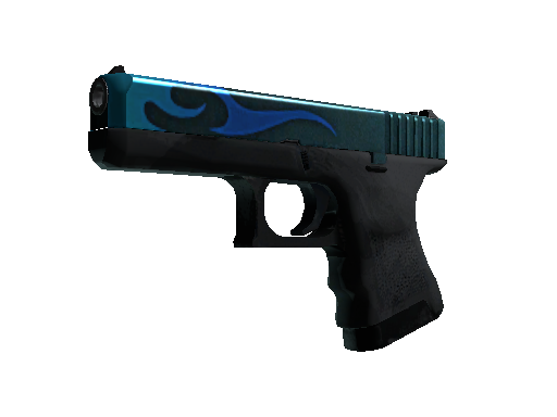 StatTrak™ Glock-18 | Bunsen Burner (Battle-Scarred)