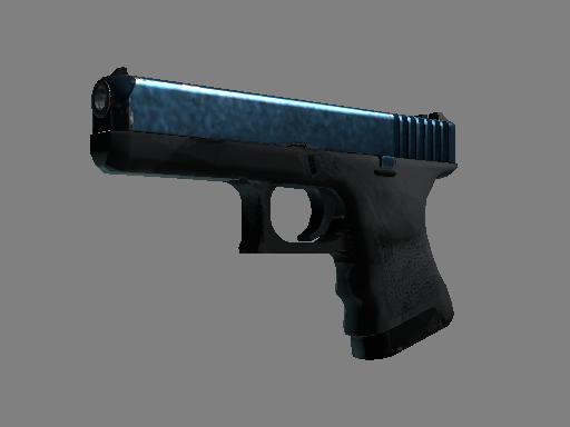 Скин Glock-18 | Сумеречная галактика (После полевых испытаний)