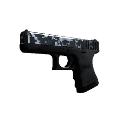 Glock-18 | Steel Disruption (Factory New)