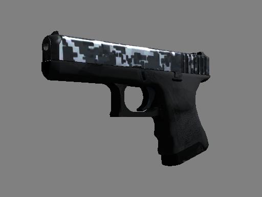 Glock-18  |  Steel Disruption  Minimal Wear