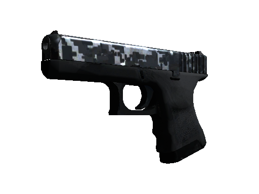 Glock-18 | Steel Disruption Field-Tested