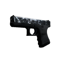 StatTrak™ Glock-18 | Steel Disruption (Field-Tested)