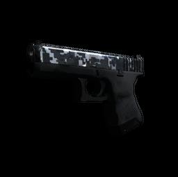 StatTrak™ Glock-18 | Steel Disruption (Field-Tested)
