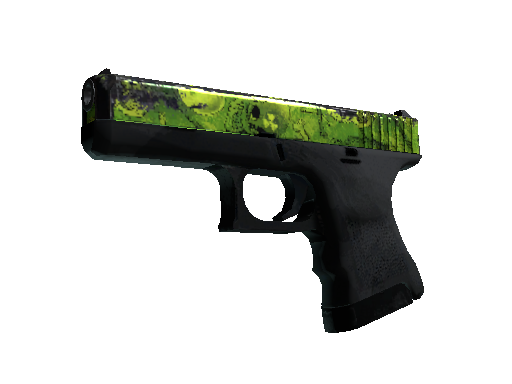 Glock-18 | Nuclear Garden Battle-Scarred
