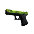 Glock-18 | Nuclear Garden <br>(Well-Worn)