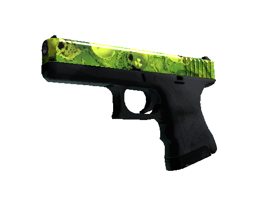 Glock-18 | Nuclear Garden (Battle-Scarred)