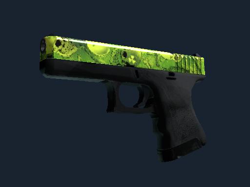 Souvenir Glock-18 | Nuclear Garden (Battle-Scarred)