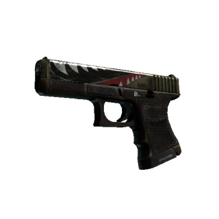 StatTrak™ Glock-18 | Warhawk (Field-Tested)