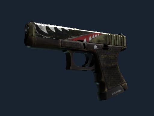 Скин Glock-18 | Ястреб (Немного поношенное)