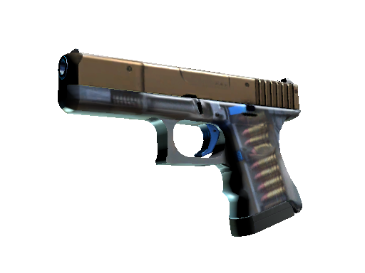 StatTrak™ Glock-18 | Clear Polymer (Battle-Scarred)