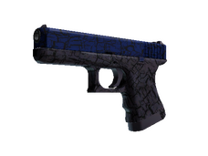 Buy cheap Glock-18 | Blue Fissure