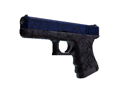 Glock-18 | Blue Fissure (Battle-Scarred)