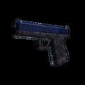 Glock-18 | Blue Fissure <br>(Minimal Wear)