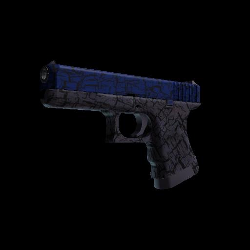 Glock-18 | Blue Fissure - gocase.pro